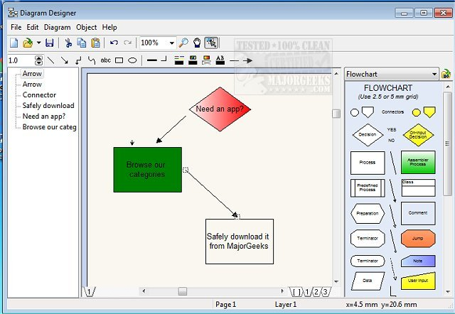 Download diagram designer majorgeeks official download mirror for diagram designer ccuart Choice Image
