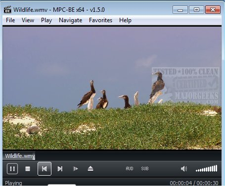 windows media player classic 64 bits download