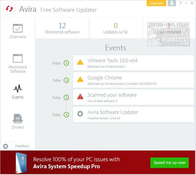 Download Avira Software Updater - MajorGeeks