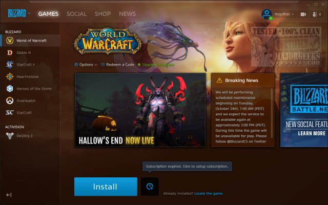 Download Blizzard Battle Net - MajorGeeks