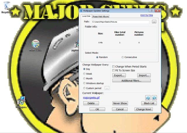 Download Wallpaper Updater - MajorGeeks