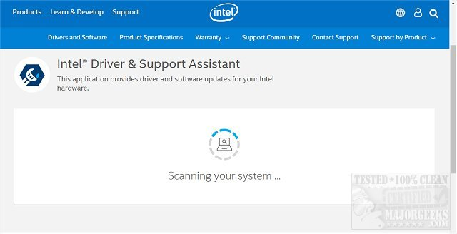 Download Intel Driver & Support Assistant (Driver Update