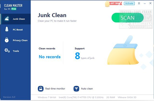 Clean master 6. 0 download for pc free.