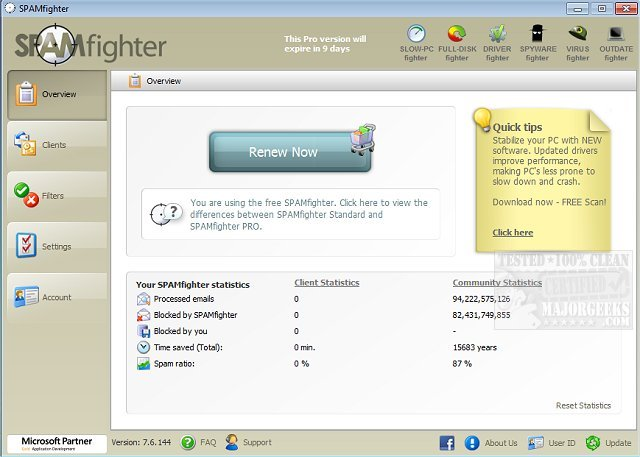 spamfighter crack keygen
