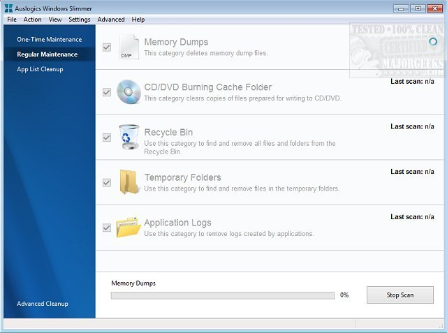 Auslogics Windows Slimmer Professional Serial Key v2.4