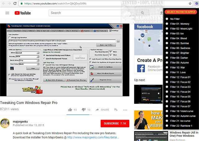 Download YouTube Video Effects And Audio Enhancer for Chrome