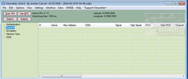 Download Vistumbler - MajorGeeks