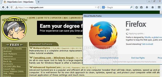 Firefox Manual Download