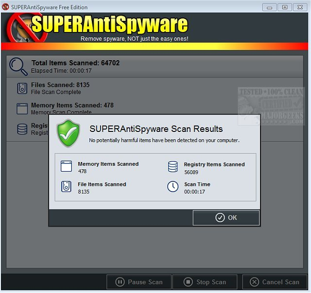 Superantispyware serial key 2019 | SUPERAntiSpyware 8 0 1028 Crack