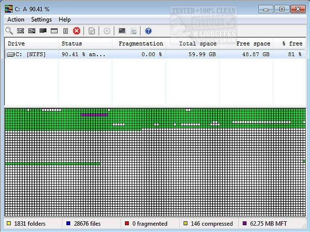 Download UltraDefrag 64 Bit - MajorGeeks