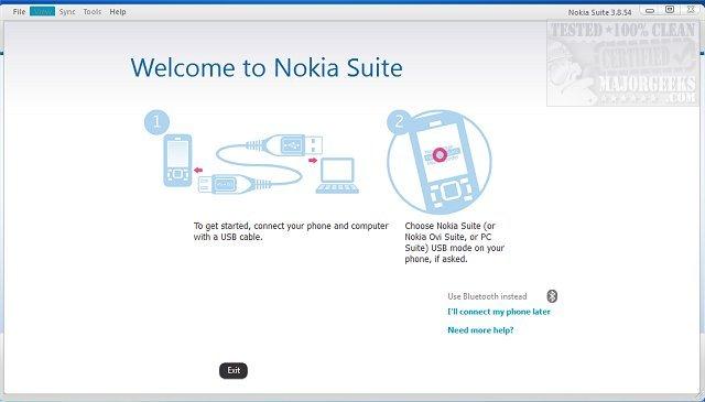 Download Nokia Suite (formerly Nokia Ovi Suite) - MajorGeeks
