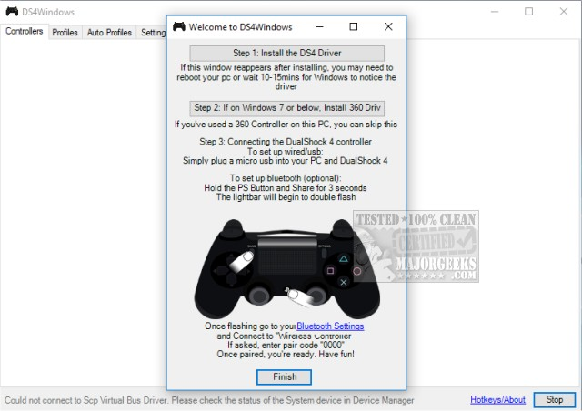 Download DS4Windows - MajorGeeks