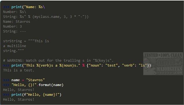 Download Python - MajorGeeks