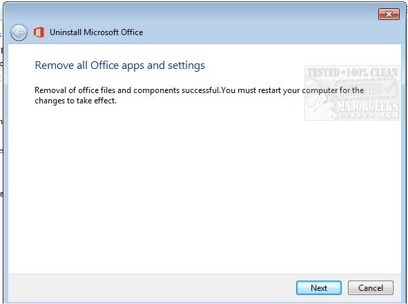 Download Uninstall Microsoft Office - MajorGeeks