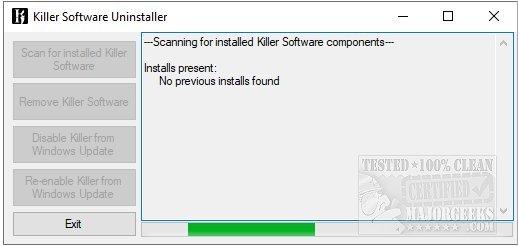 killer control center service not running