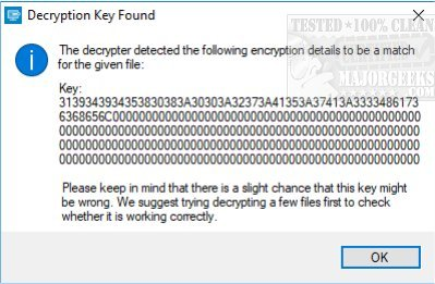 Download Emsisoft Decrypter for JSWorm 2 0 - MajorGeeks