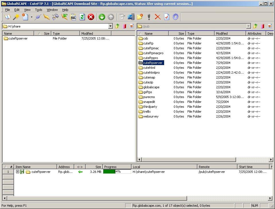 20.03.2008. CuteFTP-PRO-8.1-Portable. создание сайтов и страниц