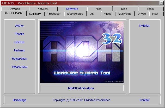 INFORMATION SYSTEM GRATUIT ENTREPRISE AIDA32 TÉLÉCHARGER