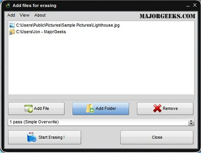 eraser software download