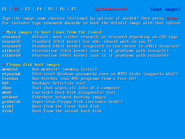 Resultado de imagen para SystemRescueCd 5.2.1