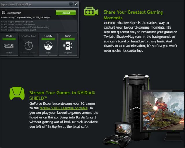 Download NVIDIA GeForce Experience - MajorGeeks