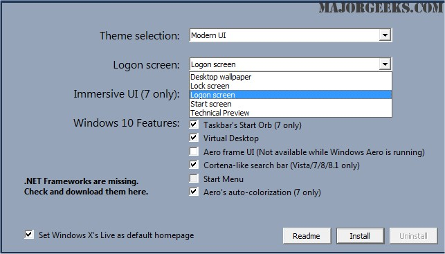 Download Windows 10 UX Pack - MajorGeeks