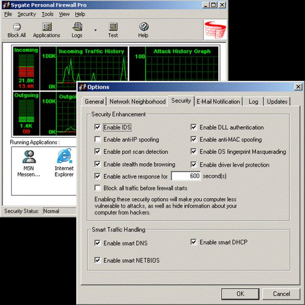 Sygate personal firewall windows 10