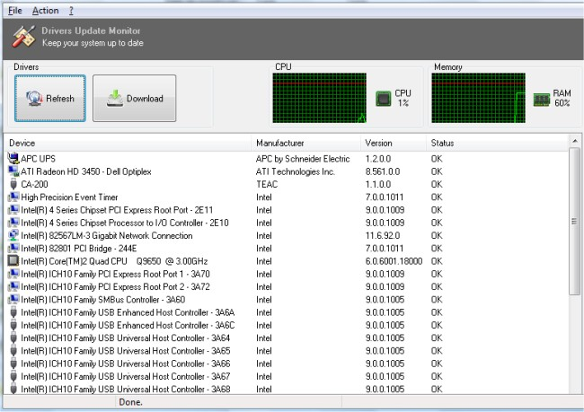 Download DUMo (Drivers Update Monitor) - MajorGeeks