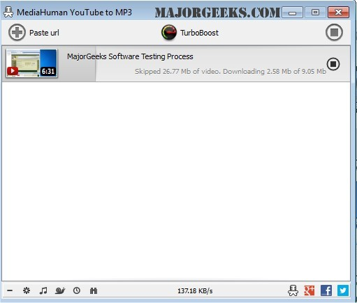 Download YouTube to MP3 Converter - MajorGeeks