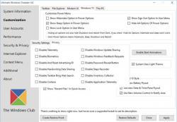ultimate windows tweaker 4.1.1