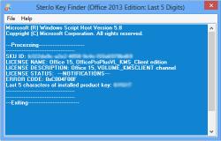 office 2013 key finder download