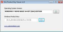 Download Win Product Key Viewer - MajorGeeks
