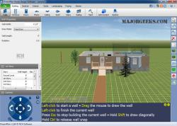 Download dreamplan home design software majorgeeks for Dreamplan home design software