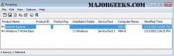 Download ProduKey - MajorGeeks