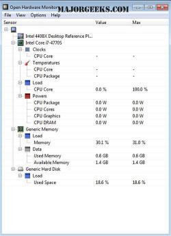 تحميل برنامج Open Hardware Monitor, رابط مباشر thumbnail