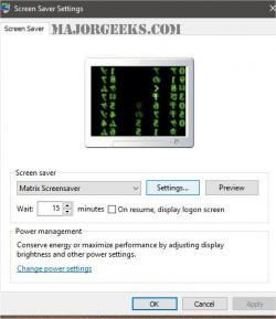 Download Matrix Screensaver - MajorGeeks