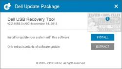 dell usb recovery tool windows 7