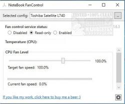 Download NoteBook FanControl - MajorGeeks