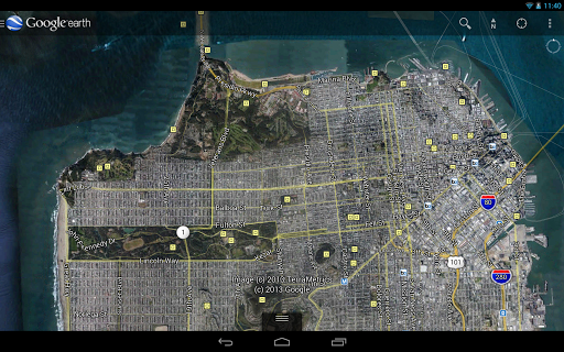 Google Earth for Android updated -Street View, 3D Imagery