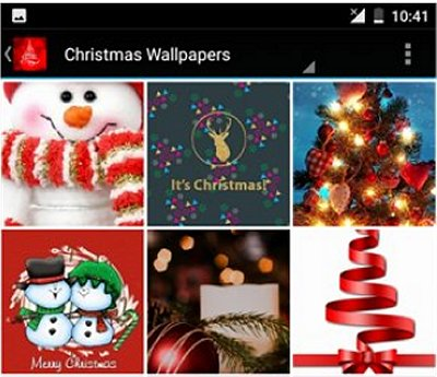 There are some heartwarming wallpapers to choose from - including classic Christmas trees dressed with lights to Santa on his sleigh soaring through the ...