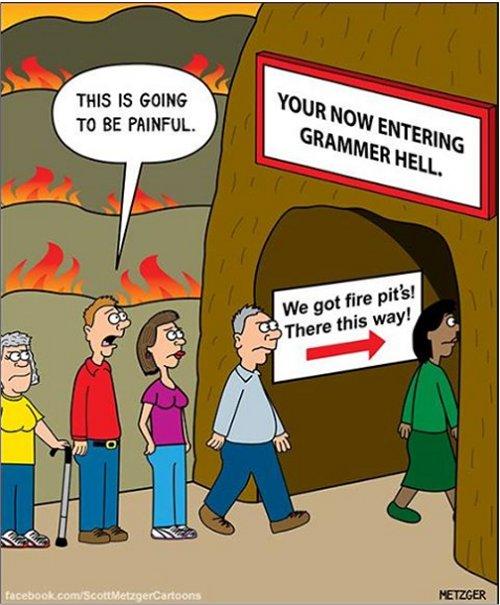 Random Photo: Grammer Hell - MajorGeeks