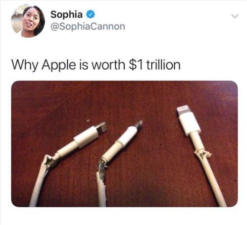 random photo apple worth 1 trillion dollars majorgeeks