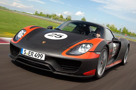 Porsche 918 Spyder: A Unique Combination Of Performance And Efficiency