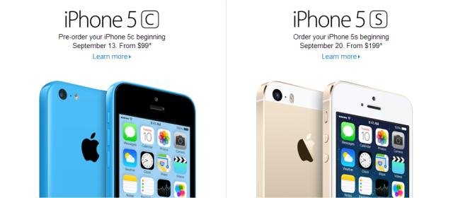 iPhone 5s & iPhone 5c Arrive on Friday, September 20 - MajorGeeks