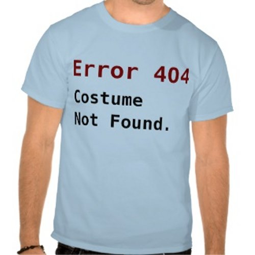404 Not Found: Some Geeky Costume Ideas That You Could Make Today