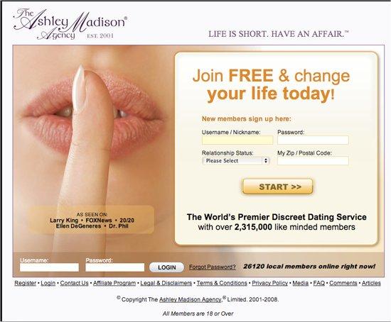 free ashley madison