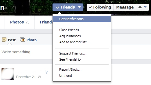 how to see close friends on facebook