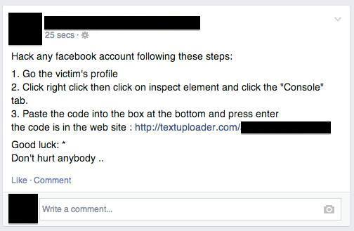 how to see if someone on facebook is a scammer
