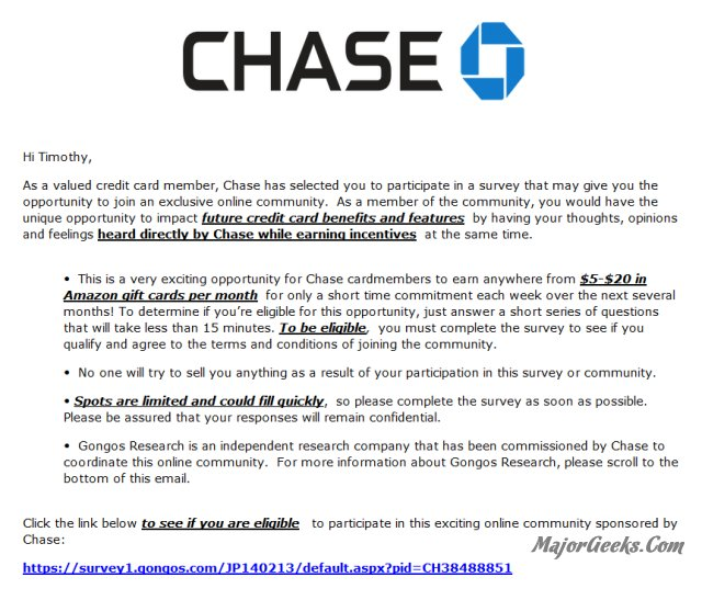 Hereu0027s The Response From Chase Bank: