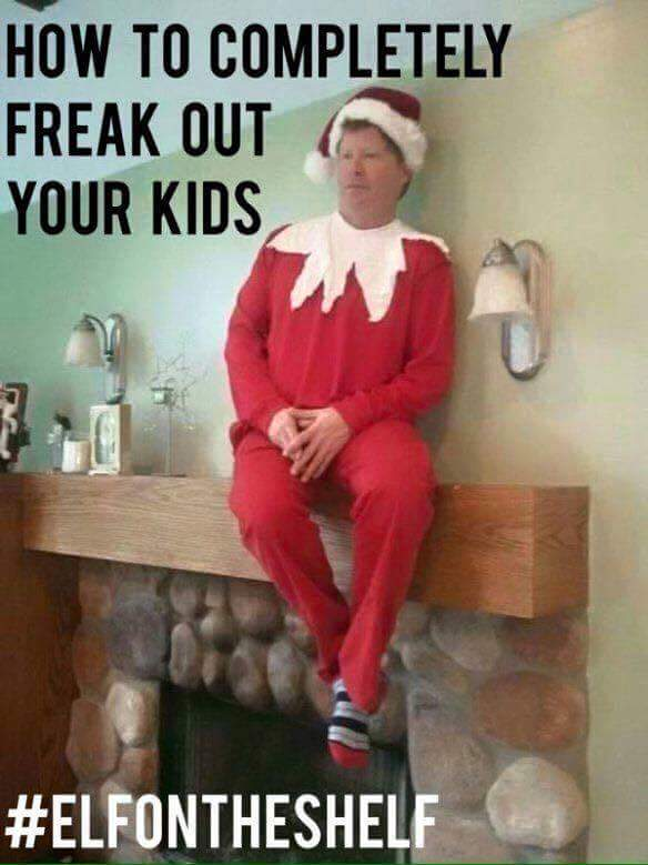 Christmas Memes For Kids.Random Photo How To Get Your Kids In Line For Christmas